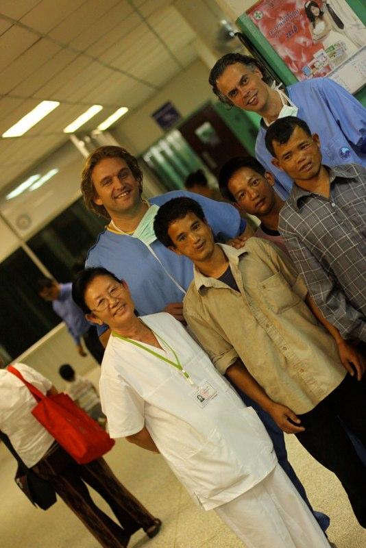 Samen met en met de Noma patienten uit 2008
